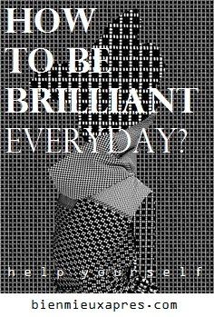 Ad. BMA How To Be Brilliant everyday - gradient tessellation